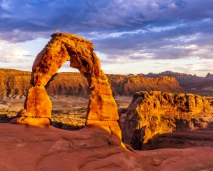 Colorful Delicate Arch