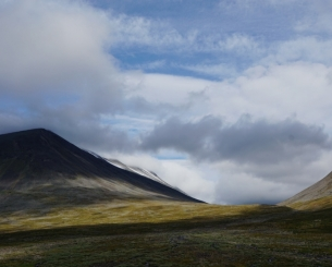 Natural beauty along the Kungsleden